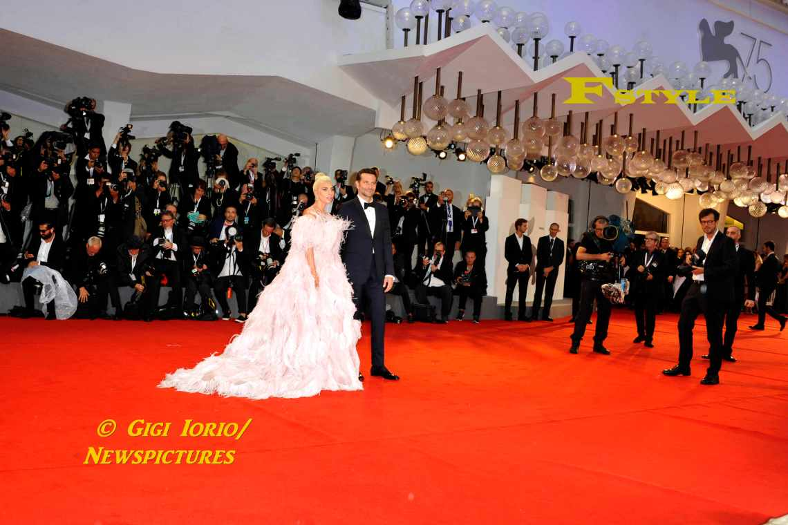 Lady Gaga and Bradley Cooper at 75th Venice Film Festival