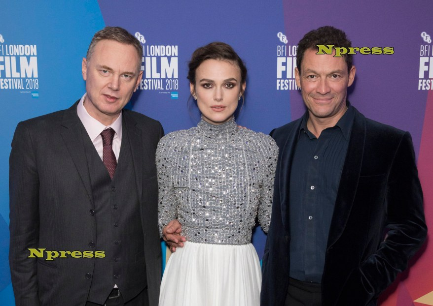 Keira Knightley and Dominic West