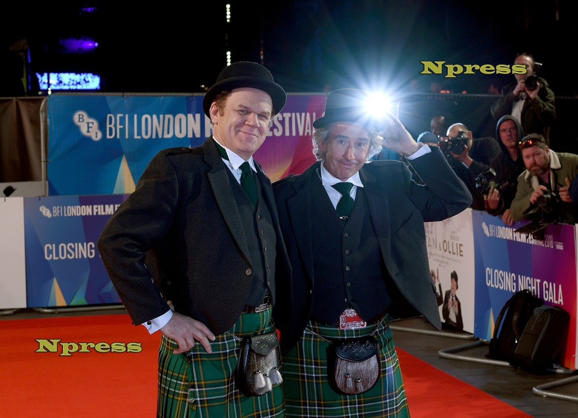 """Stan & Ollie"" World Premiere & Closing Night Gala -  62nd BFI London Film Festival"