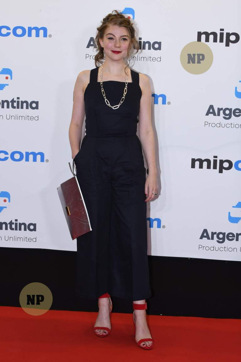 Cannes Mipcom,Red Carpet Celebrity arrivals opening Party