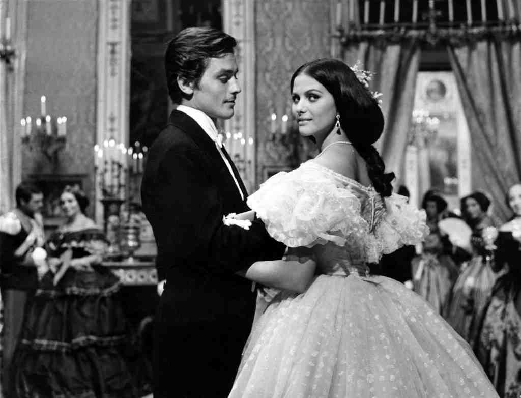 Alain Delon with Claudia Cardinale