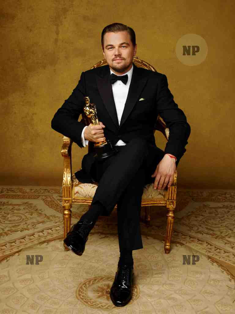 "Leonardo DiCaprio  Oscar® for  ""The Revenant"" 2016. ©A.M.P.A.S"