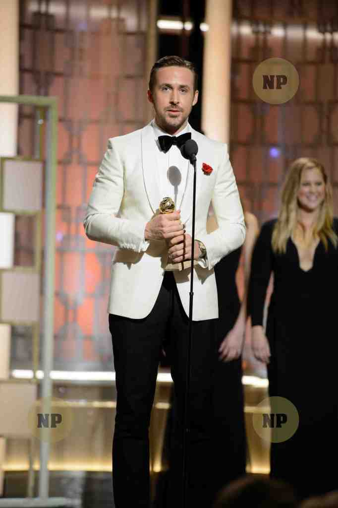 Ryan Goslin- Golden Globes HFPA