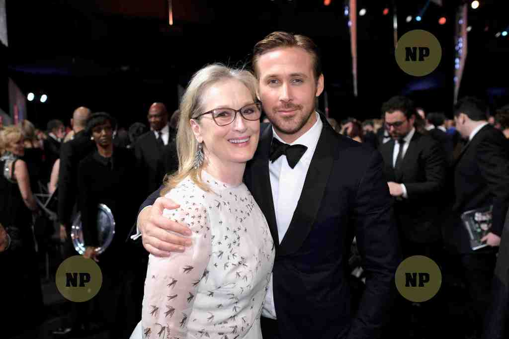 Ryan Goslin- Meryly Streep-Screen Actors Guild Awards