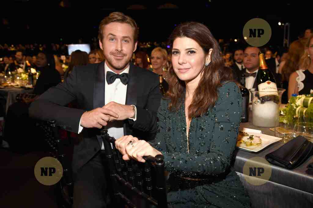 Ryan Gosling and Marisa Tomei