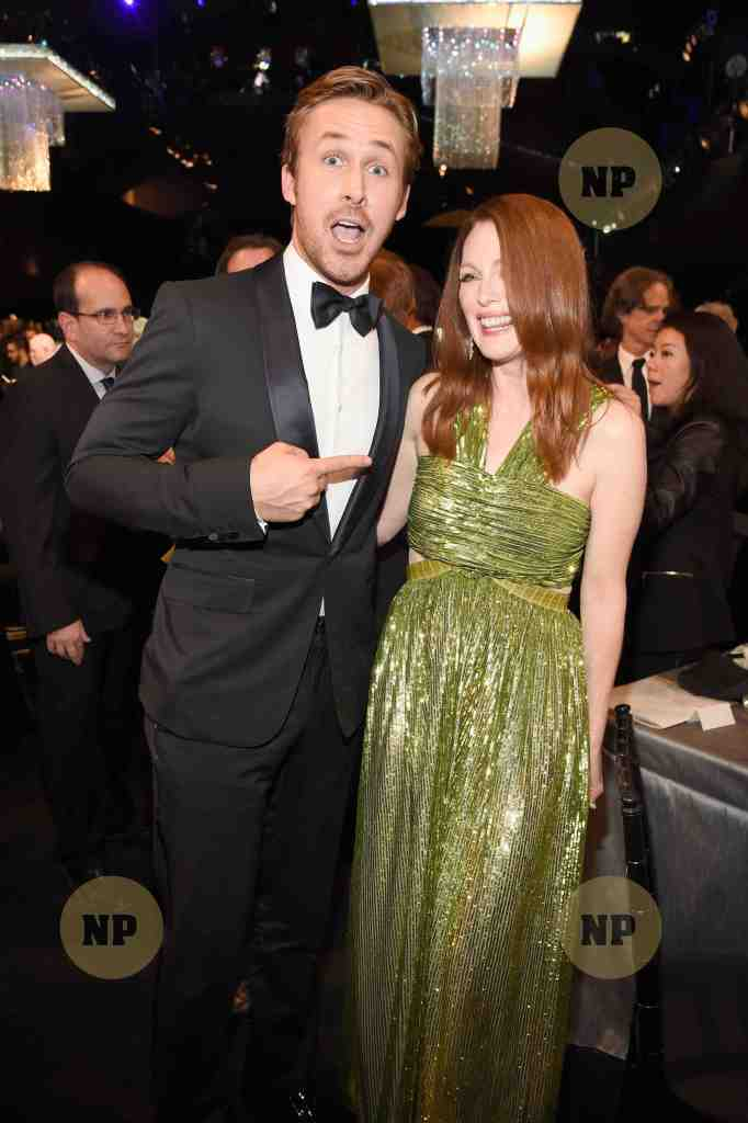 Ryan Gosling and Julianne Moore